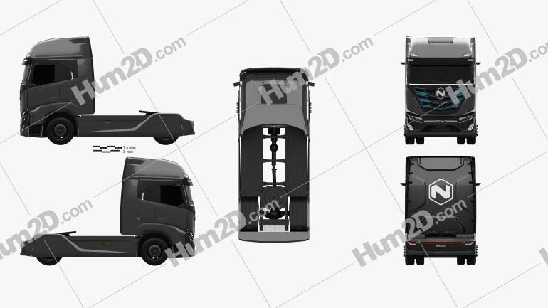 Nikola TRE Tractor Truck 2020