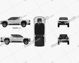 Nikola Badger 2020 car clipart