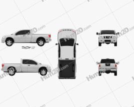 Nissan Titan 2011 car clipart