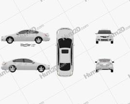 Nissan Altima 2012 car clipart