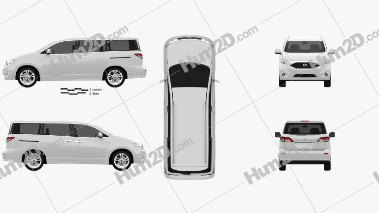 Nissan Quest 2011 clipart