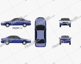 Nissan Almera (B10) Classic 2012 car clipart