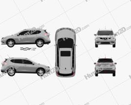 Nissan Rogue 2014 Clipart