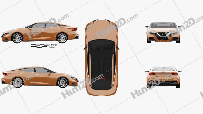 Nissan Sport Sedan 2013 Imagem Clipart