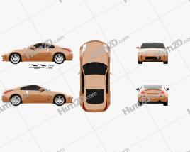 Nissan 350Z (Z33) 2007 car clipart