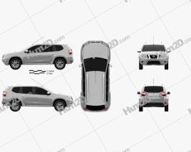 Nissan Terrano 2013 Clipart