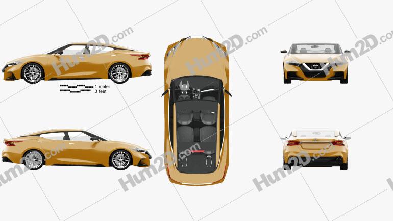 Nissan Sport Sedan com interior HQ 2013 car clipart