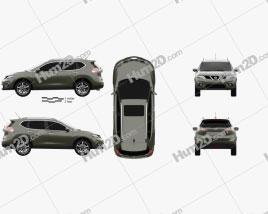 Nissan X-Trail 2015 Clipart