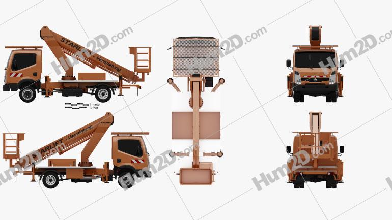 Nissan Cabstar Lift Platform Truck 2006