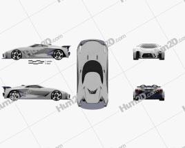 Nissan 2020 Vision Gran Turismo 2014 car clipart