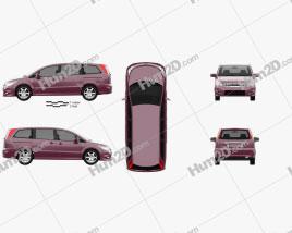 Nissan Presage 2006 clipart
