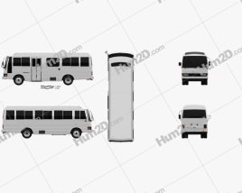 Nissan Civilian SWB Bus 1982