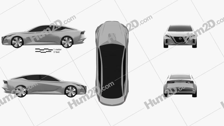 Nissan Vmotion 2.0 2017 Imagem Clipart