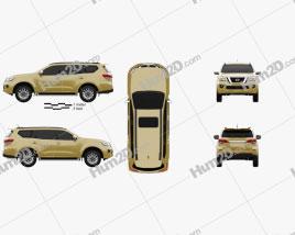 Nissan Terra 2019 Clipart
