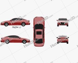 Nissan Altima Platinum 2018 car clipart