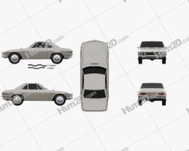 Nissan Silvia 1965 Clipart