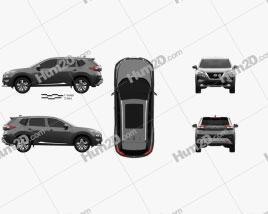Nissan Rogue Platinum 2021 car clipart