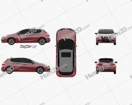 Nissan Tiida 2021