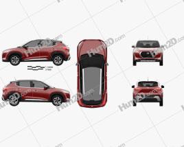 Nissan Magnite 2021 Clipart