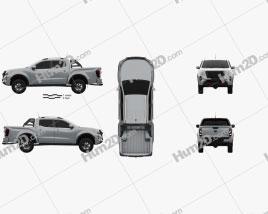 Nissan Navara Doppelkabine PRO 4X 2020 car clipart