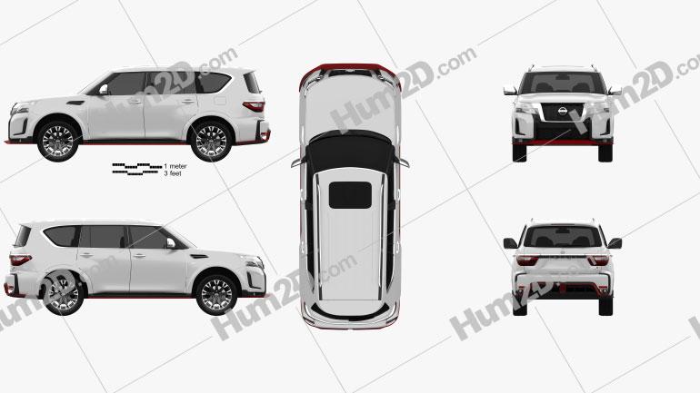 Nissan Patrol Nismo 2021 car clipart