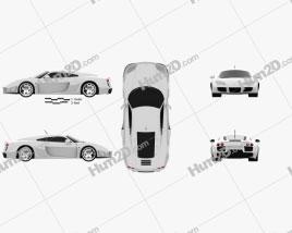 Noble M600 2012 car clipart
