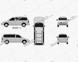 Oldsmobile Silhouette 2004 clipart