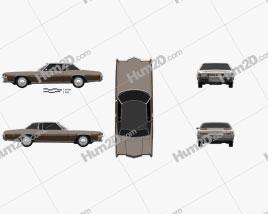 Oldsmobile Toronado (Y57) 1972 Clipart