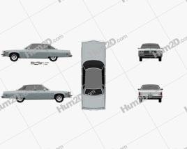 Oldsmobile 98 Regency 1976 car clipart