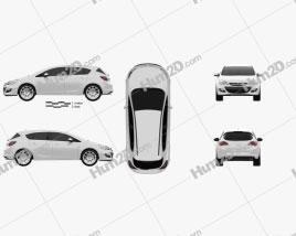 Opel Astra J hatchback 5-door 2012