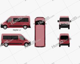 Opel Movano Passenger Van 2010