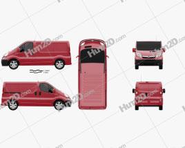 Opel Vivaro Panel Van 2006