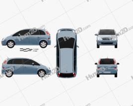 Opel Meriva (A) 2003