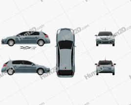 Opel Signum 2006 car clipart