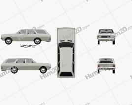 Opel Rekord (C) Caravan 1967