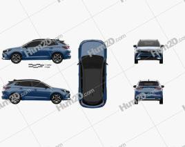 Opel Grandland 2022 car clipart