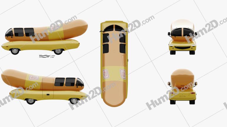 Oscar Mayer Wienermobile 2012