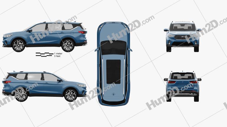 Oshan COS1 2018 car clipart