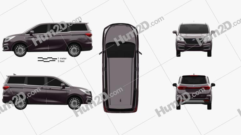 Oshan Cosmos 2018 car clipart