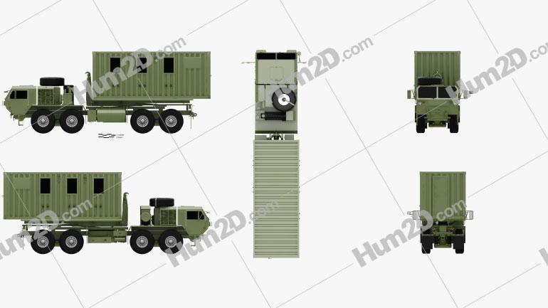 Oshkosh M1120A4 Load Handling System 2011 clipart