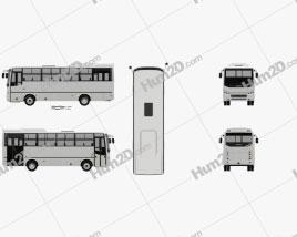 Otokar Navigo C Bus 2017 Clipart