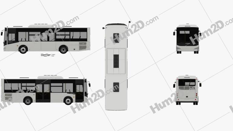 Otokar Vectio C Bus 2017 clipart