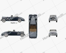Packard Twelve Coupe Roadster 1936