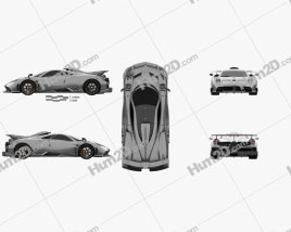 Pagani Imola 2020 Clipart