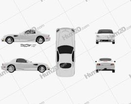 Panoz Esperante GT 2012 Clipart