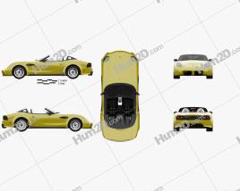 Panoz Esperante Spyder GT 2015 Clipart