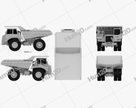 Perlini DP 655 B Dump Truck 2016