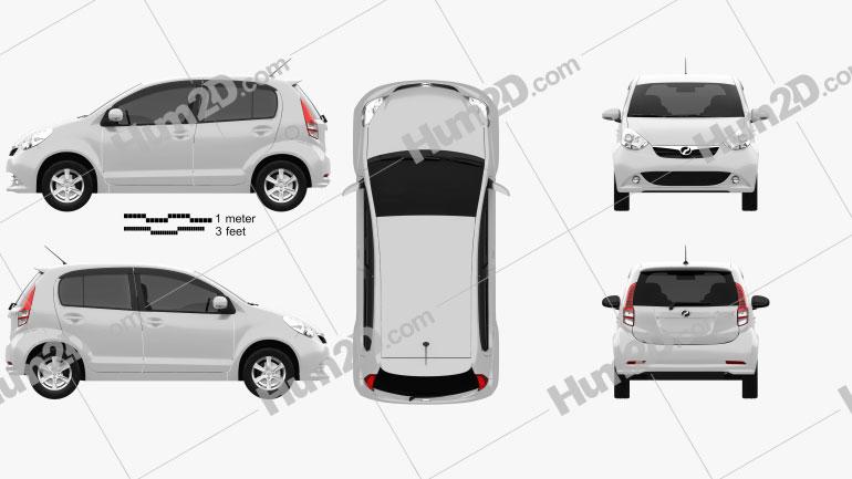 Perodua MyVi 2012