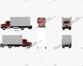 Peterbilt 325 Box Truck 2007