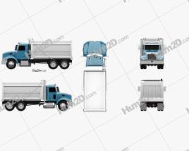 Peterbilt 348 Dump Truck 2006